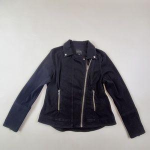 Liverpool Jean Jacket Size L, Color Black--NWOT$89